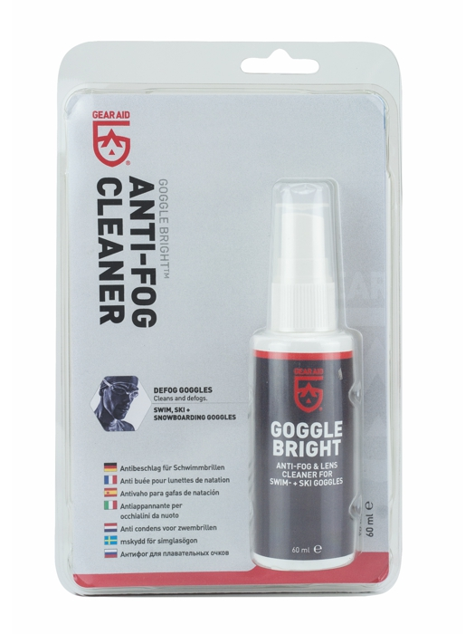 GearAid GOOGLE BRIGHT™ Anti-Fog Cleaner 60ml 40791
