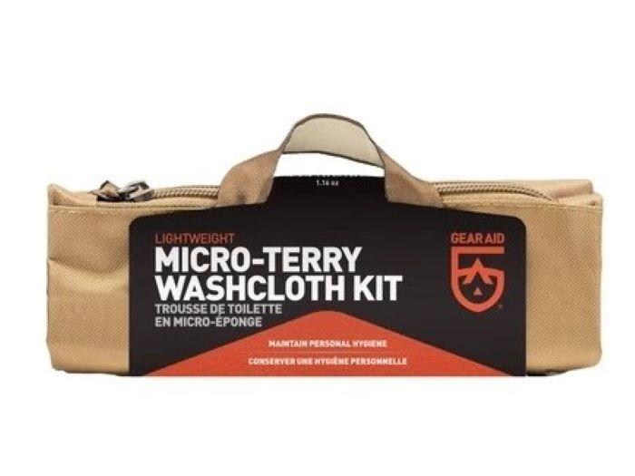 GearAid Micro-Terry Washcloth Kit